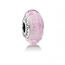 Pink Shimmer Glass