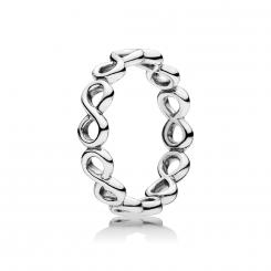 Infinite Silver ring
