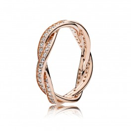 Twist of Fate rose ring