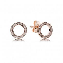 Forever PANDORA rose earring