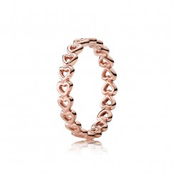 Linked Love Rose ring