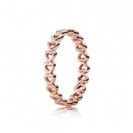 Linked Love Rose ring