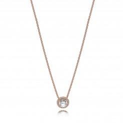 Classic Elegance Rose Necklace