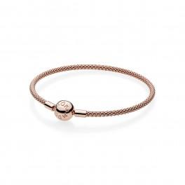 PANDORA Rose Moments Mesh Bracelet