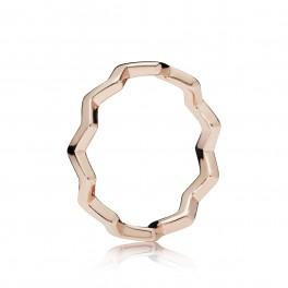 PANDORA Rose Timeless Zigzag ring