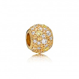 PANDORA Shine Golden Mix Pavé Ball