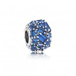 PANDORA Blue Chiselled Elegance