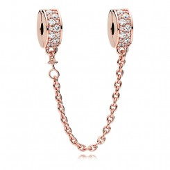 PANDORA Rose Shining Elegance Safety Chain