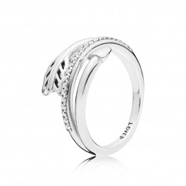 PANDORA Sparkling Arrows ring