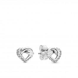 PANDORA Knotted Hearts øreringe