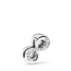 PANDORA Reflections Sparkling Infinity Clip Charm