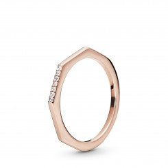 PANDORA Rose Multifaceted Ring