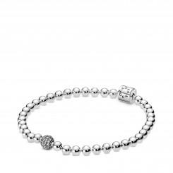 PANDORA Beads & Pavé armbånd