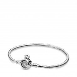 PANDORA Moments Crown O & Snake Chain Armbånd