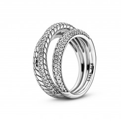 PANDORA Snake Chain Pattern Ring