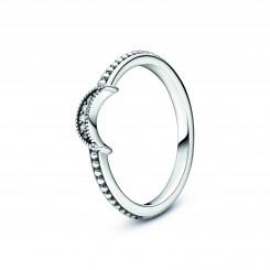 PANDORA Halvmåne Kuglebesat Ring