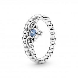 PANDORA Disney Askepot Blå Tiara Ring