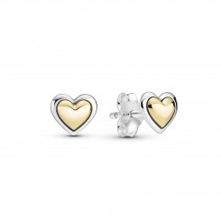 PANDORA Gyldent Hjerte Ørestikker
