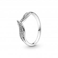 PANDORA Funklende Blad Ring