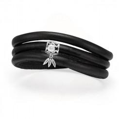 Christina Jewelry & Watches - Støt Brysterne Kampagne Armbånd - Med Sølv Charm